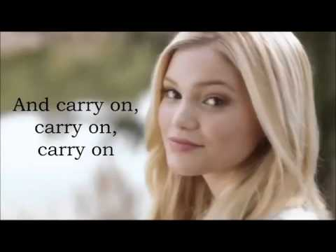 Olivia Holt   Carry On lyrics