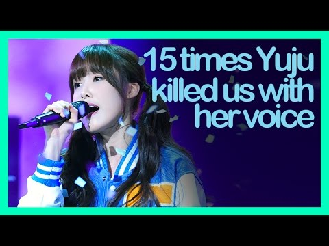 GFriend YuJu, 15 times she killed us with her powerful vocal (Part 1)