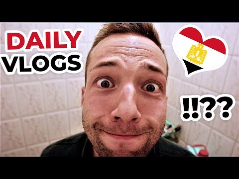 DAILY VLOGS FROM EGYPT!!? فلوج يومي من مصر