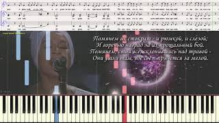 Верните память - Наргиз (Детский хор) (Ноты и Видеоурок для фортепиано) (piano cover)