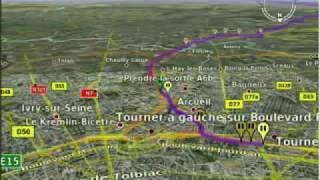 voyage virtuel de Paris au camping le rocher de la Granelle