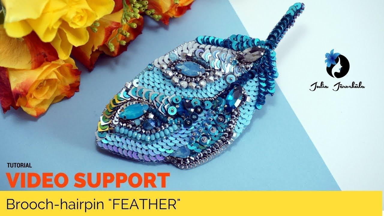 beaded jewelry handmade bead embroidery brooch fish brooch
