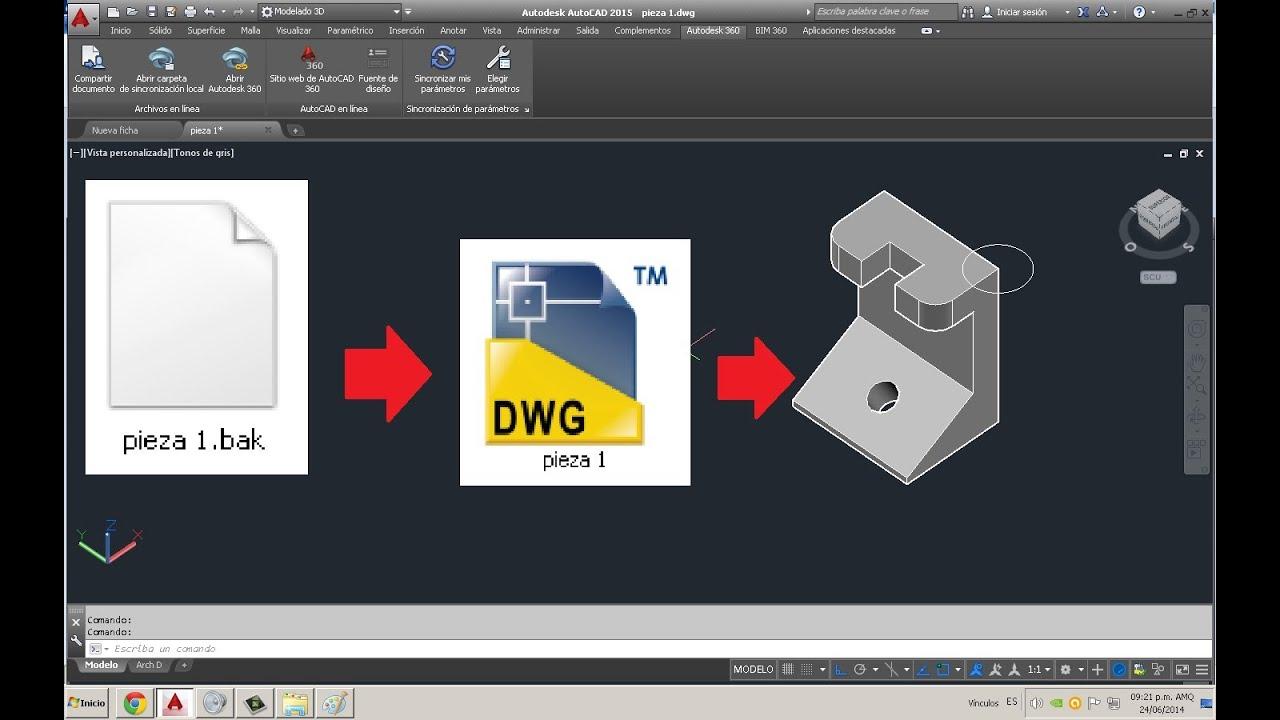 Como recuperar un archivo de autocad como recuperar for Archivos de cad