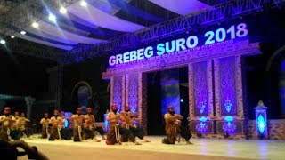 Festival reyog nasional 2018 - sman 3 PONOROGO