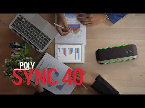 Poly Sync 40 Social Lifestyle Video: ES