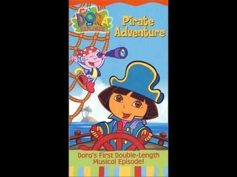Opening to Dora The Explorer: Pirate Adventure 2004 VHS ...