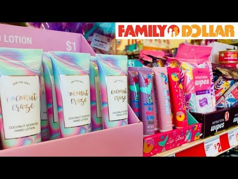 FAMILY DOLLAR SHOPPING!!! NEW FINDS JUST $1!!!