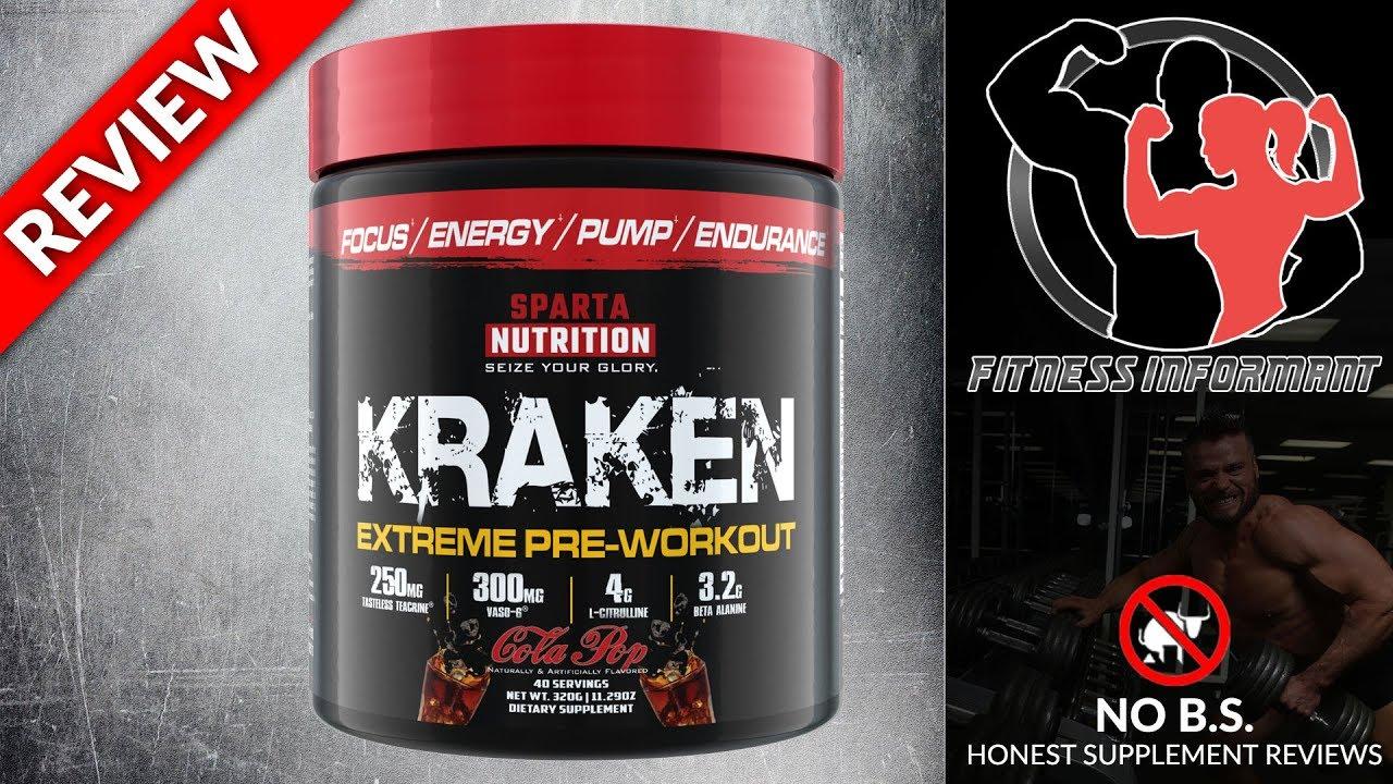 Sparta Nutrition Kraken (Reformulated Version) (2019 Update