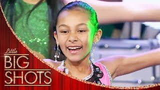 Dancer Conducts a Whole Band Using Just her Flag | Little Big Shots
