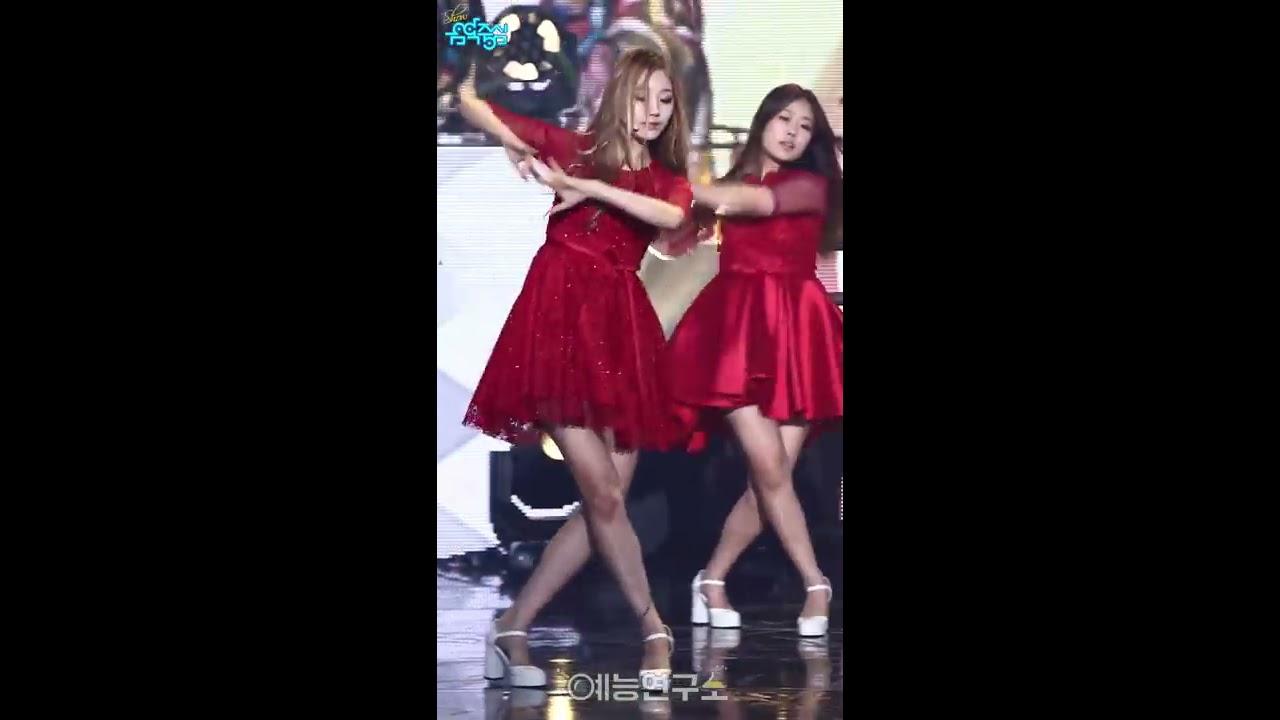 [예능연구소] 러블리즈 데스티니 정예인 Focused @쇼!음악중심_20161224 Destiny Lovelyz JEONG YE-IN