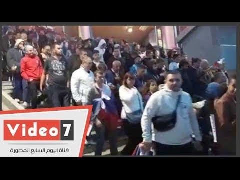 اليوم السابع :الحزن يخيم على الجماهير المصرية بعد الخسارة أمام روسيا