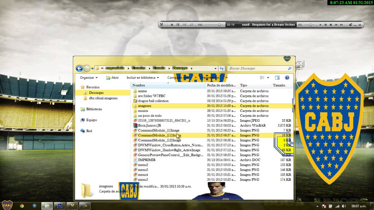 tema de boca juniors para windows 7 softonic