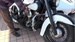 1954 PAN-HEAD キックの鬼 ヴィンテージハーレー Harley Davidson.