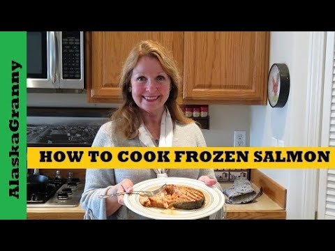 How To Cook Frozen Freezer Burned Salmon Whisky Garlic Marinade Easy Salmon Fish Recipe