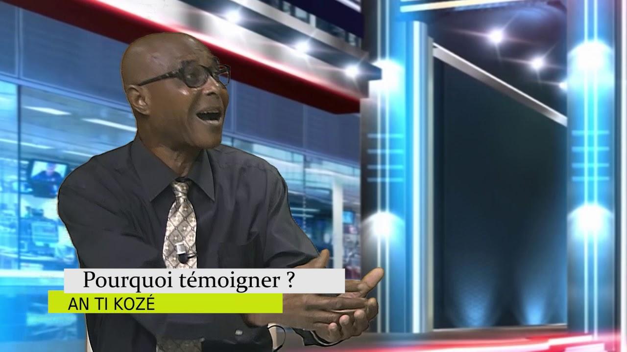 AN TI KOZE 2020 T3 L1 Pourquoi témoigner Gratien GABRIEL CALIXTE Jacques CESAIRE 04 juillet 2020