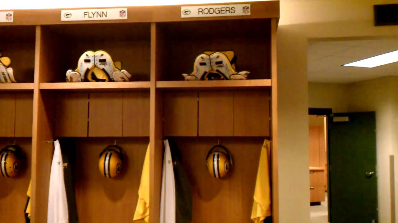 Green Bay Packers Locker Room Photos