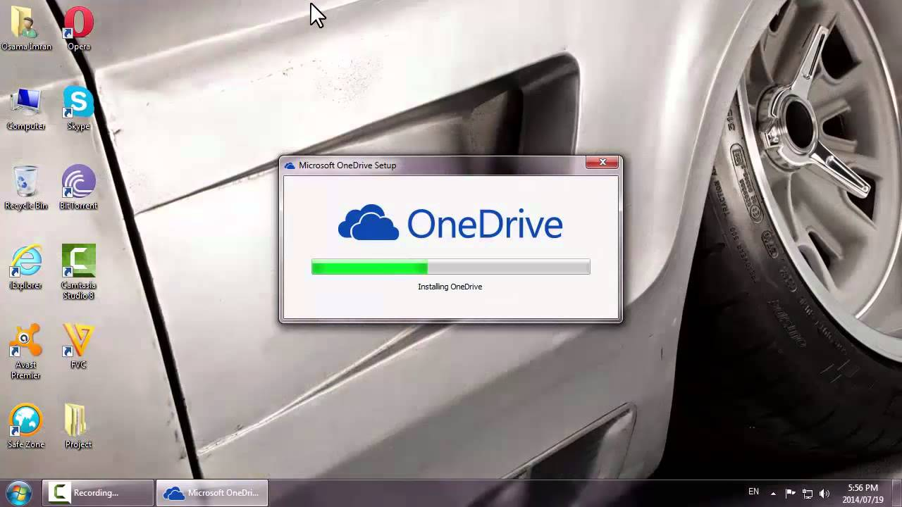 Integrate onedrive into windows 7 explorer sidebar super user.