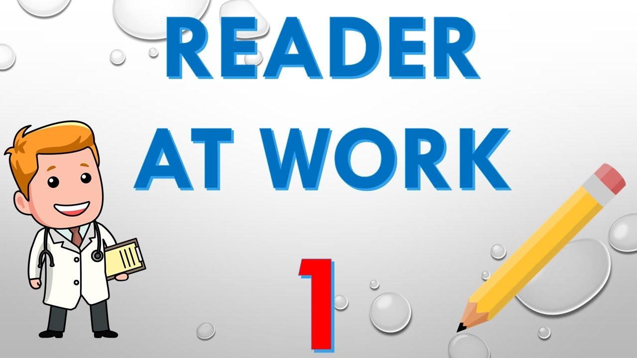 reader at work 1 kelimeler pdf