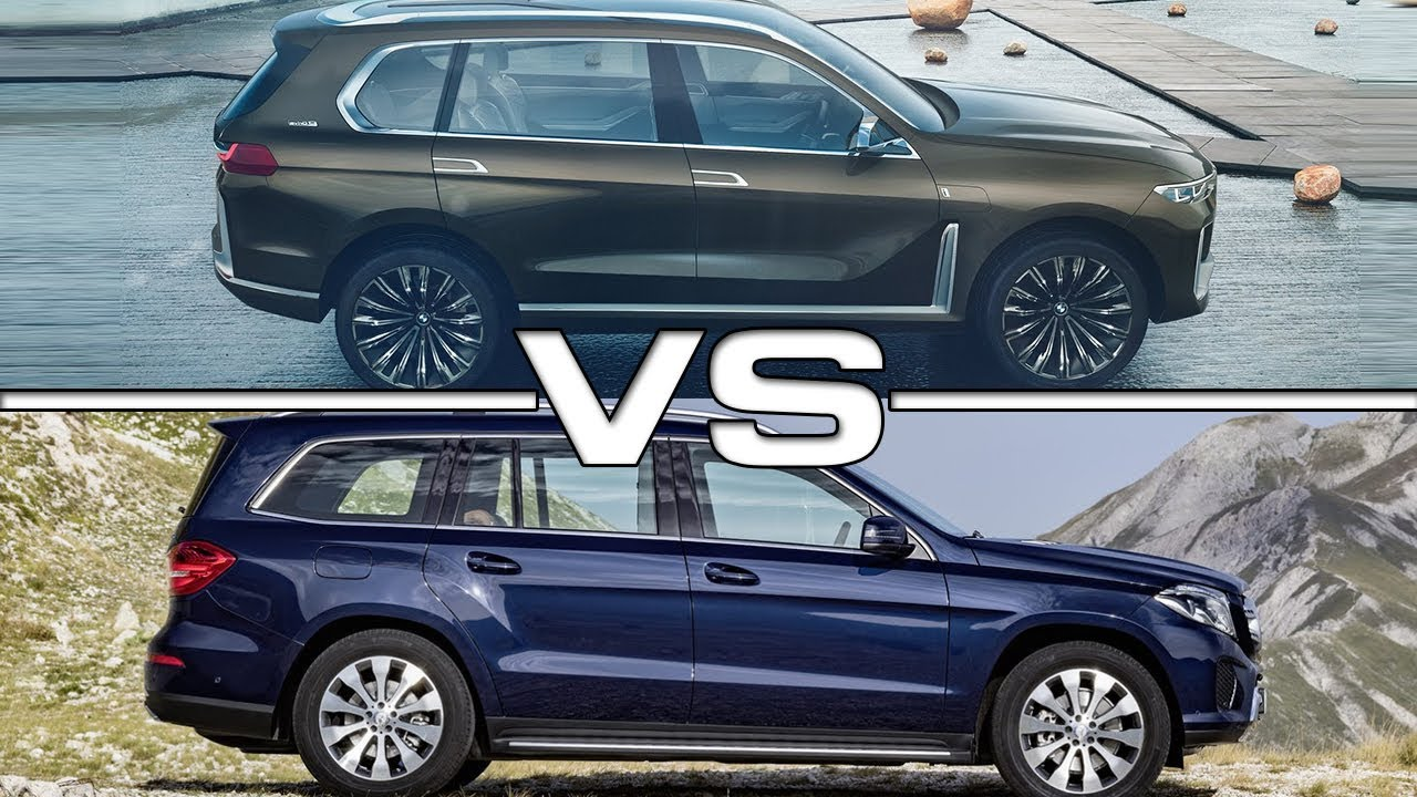 Exclusive Pictures Of Bmw X7 Vs Mercedes Gl Hd Fiat