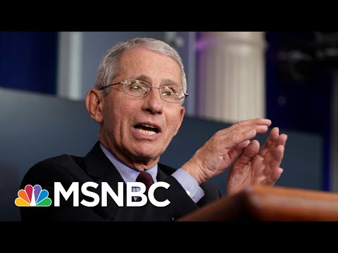 Fauci Predicts U.S. Could See 100K New Coronavirus Cases A Day | MSNBC