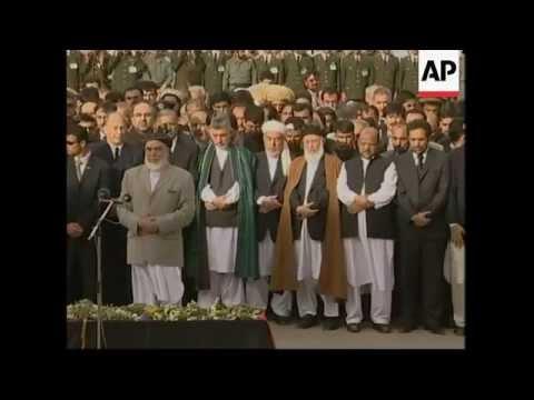 HH the Aga Khan attends King Zahir Shah Funeral