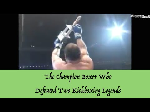 The Champion Boxer Who Defeated Two Kickboxing Legends  Lawrence Kenshin