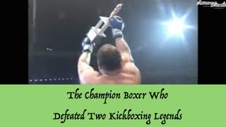 The Champion Boxer Who Defeated Two Kickboxing Legends | Lawrence Kenshin