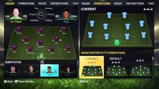 FIFA 15 Gameplay PS4 MENU FIFA 2015