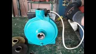 Bomba centrifuga modificada prueba