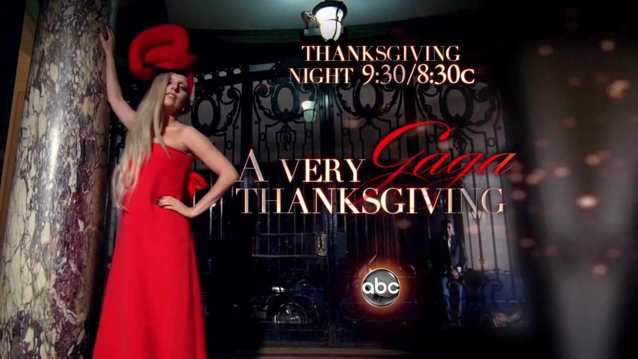 A Very Gaga Thanksgiving Promo