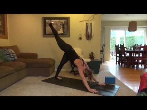 Open your Heart Air Yoga Flow with Kelly Heath