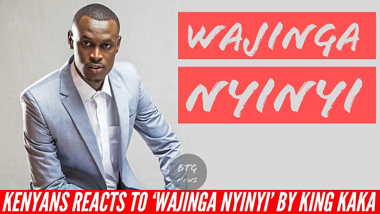 KENYANS REACTS TO KING KAKA SONG 'WAJINGA NYINYI' |BTG News