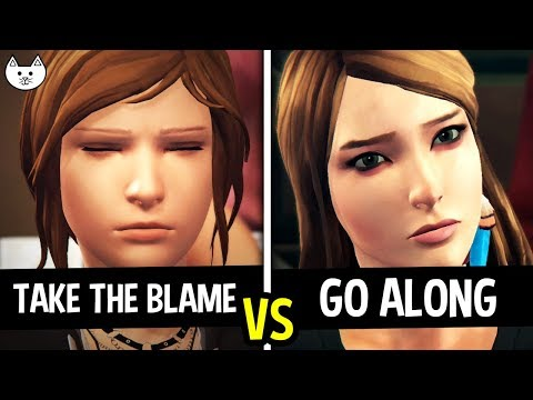 TAKE THE BLAME vs GO ALONG WITH RACHEL - Life Is Strange Before The Storm Episode 2 Choices