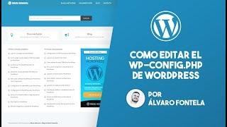 Como editar el archivo wp-config.php de WordPress Mp3