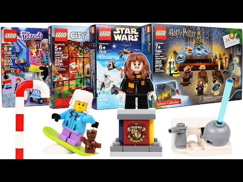 Every 2019 LEGO Advent Calendar Door Opening - Day 20