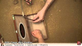 DIY Cigar Box Guitar: Part 2 - The First Cut!