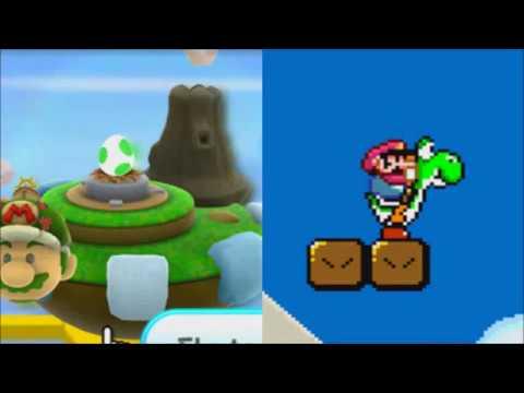 Dash Yoshi Star (Mario Music Mashup 4)
