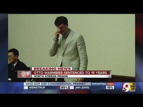 Cincinnati Native Otto Warmbier Sentenced To 15 Years Hard Labor In North Korea