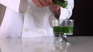 Molecular Gastronomy Recipes Australia and New Zealand - Arugula Spaghetti