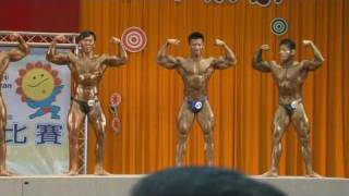 Repeat youtube video 98 10 27全運會健美 85公斤決賽