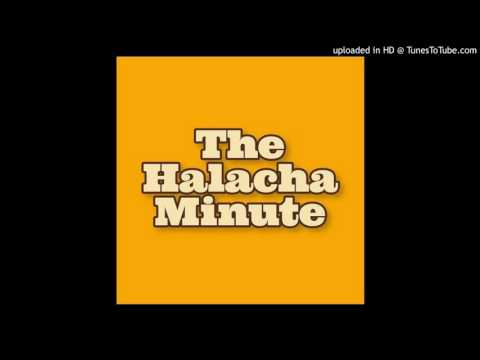Halacha Minute - Shabbat Morning Kiddush
