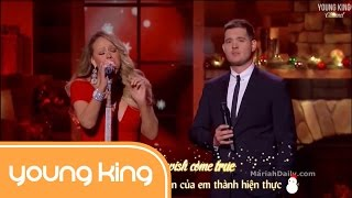 [Lyrics+Vietsub] All I Want For Christmas Is You - Mariah Carey & Michael Bublé