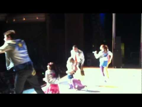Anna Onstage with The Fresh Beat Band - Rock Star Girl