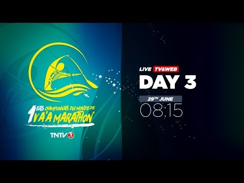 IVF Va'a World Distance Championships 2017 - DAY 3 - English