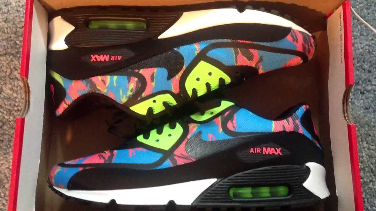 sneakers for cheap a6648 adbb9 air max 90 tape camo blue size 13