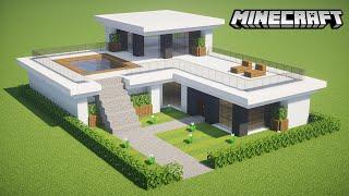 MANYACRAFT: Como fazer uma Casa Moderna no Minecraft