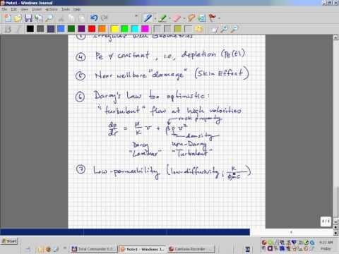 Intro to Darcy's Law and Rate Equation