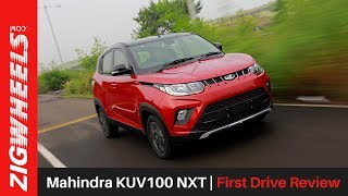 Mahindra KUV100 NXT | First Drive Review | ZigWheels.com