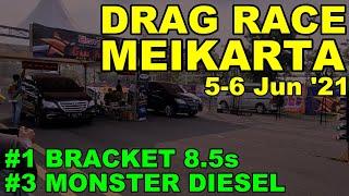 Innova SOLAR: MEIKARTA DRAG RACE 5-6 Jun '21 // FORTUNER 4x4 THAI 600HP BIKIN GW JUARA #3 MonDiesel!