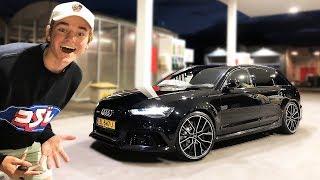 MIJN NIEUWE AUTO! Audi RS6 met Milltek uitlaat.